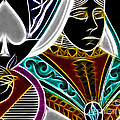 Queen Of Spades - V4 by Wingsdomain Art and Photography