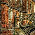 Queens' College And Mathematical Bridge by Yhun Suarez