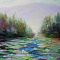 Quiet Stream - Cascade Mountains by Becky Bragg
