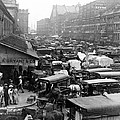 Quincy Market From Faneuil Hall - Boston - C 1906 by International  Images