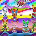 Rabbits by Victoria Regueira
