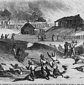 Race Riot In Memphis, Tennessee, May 2 by Everett