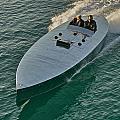Raceboat Mercury by Steven Lapkin