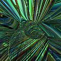 Radiant Digital Floral Fx  by G Adam Orosco
