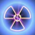 Radiation Warning Sign by Pasieka