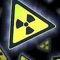Radiation Warning Signs, Artwork by Doncaster And Bassetlaw Hospitals