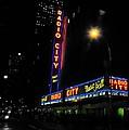 Radio City Music Hall - Greeting Card by Mark Valentine