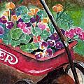 Radio Flyer Garden by Sheryl Heatherly Hawkins