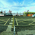 Raf Lee-on-the-solent Hovercaft by Jan W Faul