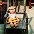 Rag Doll In Chair by Susan Savad