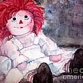 Raggedy Ann by Andreia Medlin