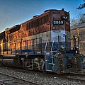 Rail America's 3869 by Mike Martin