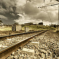 Rail Contrasts by Paul Mack