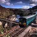 Railcar At Berwyn by Rob Hawkins
