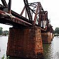 Railroad Bridge 1 by Kay Lovingood