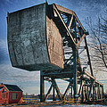 Railroad Bridge 10615c by Guy Whiteley