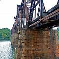 Railroad Bridge 2 by Kay Lovingood