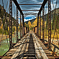 Railroad Bridge by Patrick  Flynn