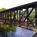 Railroad Bridge by Sherman Perry