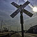 Railroad Crossing by Adam Northam