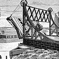Railroad Drawbridge, 19th Century by