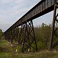 Railroad High Bridge 3 by John Brueske