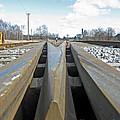 Railroad Series 04 by Ausra Huntington nee Paulauskaite