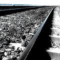 Railroad Tracks by Joe K --