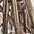 Railroad Trussel by Douglas Barnett