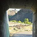 Railroad Tunnel by Linda Larson