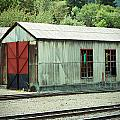 Railroad Woodshed 2 by Holly Blunkall
