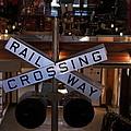 Railway Crossing by Daryl Macintyre