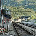 Railway Station West Interlaken Switzerland by Ashish Agarwal
