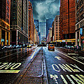 Rain On Park Avenue by Chris Lord