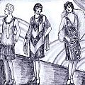 Rainbow 1920s Fashions by Mel Thompson