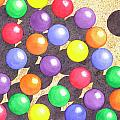 Rainbow Balls by Catherine G McElroy