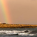 Rainbow By The Sea by Stelios Kleanthous
