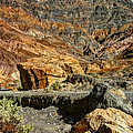 Rainbow Canyon Death Valley by Chris Brannen