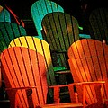 Rainbow Chairs by Joyce Kimble Smith