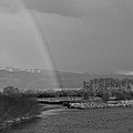 Rainbow In Black And White by Eric Tressler