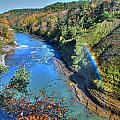 Rainbow On A Beautiful Oct Day by Michael Frank Jr