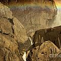 Rainbow Over Lower Bridal Veil by Adam Jewell
