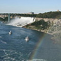 Rainbow Over Niagara Fall by Christiane Schulze Art And Photography