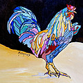 Rainbow Rooster by Rae Andrews