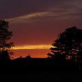 Rainbow Sherbet Sunset by Jenny Gandert
