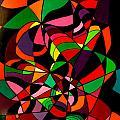Rainbow Snake 1 by Giro  Tavitian
