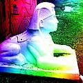 Rainbow Sphinx by Darcy Dekker