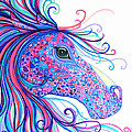 Rainbow Spotted Horse by Nick Gustafson