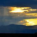 Rainstorm Over Mesas by Susanne Still