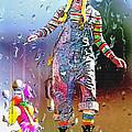Rainy Day Clown 3 by Steve Ohlsen